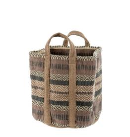 Indaba Cascade Jute Storage Basket