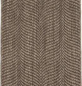 Dash & Albert Wave Greige Woven Sisal Rug 5x8