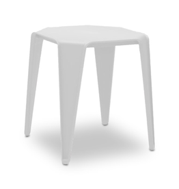 mobital Yatta End Table/Stool White