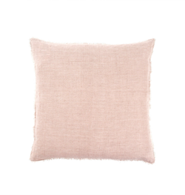 Indaba Lina Linen Pillow, Dusty 24 x 24