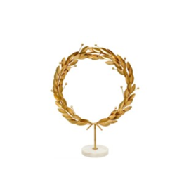 Indaba Grecian Wreath on Stand