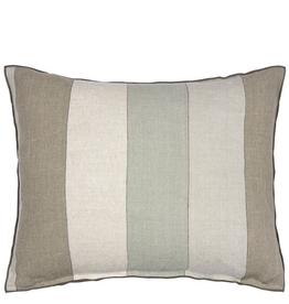 Designer's Guild Brera Gessato Zinc Cushion 24x18