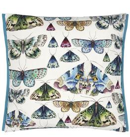 Designer's Guild DG Issoria Outdoor Cobalt Cushion 18X18