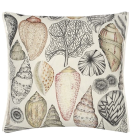 Designer's Guild DG Shell Bay Outdoor Natural Cushion 18X18