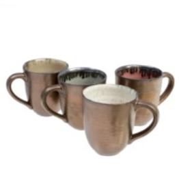 Indaba Set of 4 Aurora Mugs