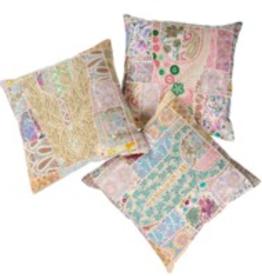 Indaba Vintage Patchwork Cushion 20x20