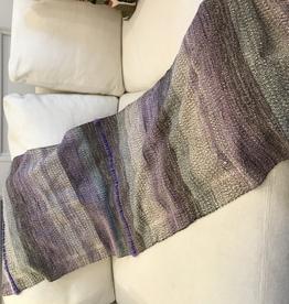 Tara Roblin Hand Woven Table Runner Lavender