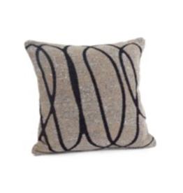 Bonavista Carole Jacquard Cushion<br /> Taupe 20x20