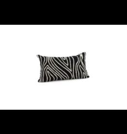 Bonavista Kelly Embroidered Cushion Black<br /> 12x22