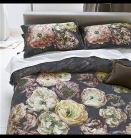 Designer's Guild La Poeme de Fleurs Midnight Queen Duvet 224x244 cm