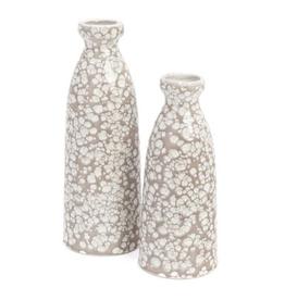 Bonavista Boise Small Ceramic Vase Taupe
