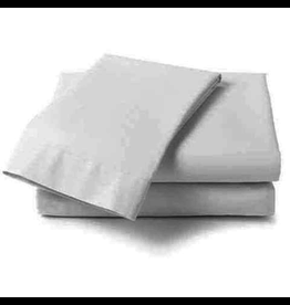 Cuddle Down Percale Deluxe Sheet, King Flat, #10 White
