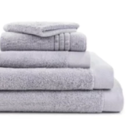St. Geneve Puro Face Towel Silver