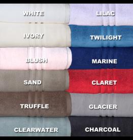 Cuddle Down Claret Portofino Hand Towel