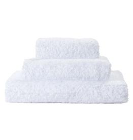 St. Geneve Super Pile Hand Towel 100% Egyptian Cotton, White