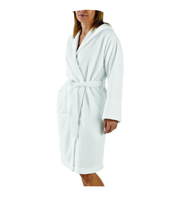 St. Geneve Abyss Capuz White M Robe with Hood
