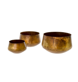 Indaba Pacific Coast Pots set of 3