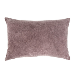 Indaba Vera Velvet Pillow Purple 16x24