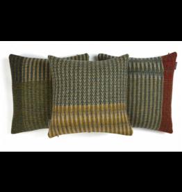Wallace Sewell Lismore Tweed Olive Shetland Wool Cushion