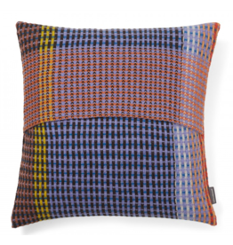 Wallace Sewell Millicent Blue Purple Lambswool Cushion
