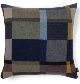 Wallace Sewell Erno Block Dark Lambswool Cushion