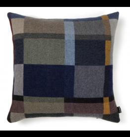 Wallace Sewell Erno Block Dark Lambswool Cushion