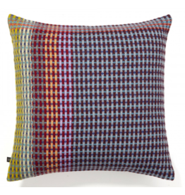 Wallace Sewell Russell Multi Blue Lambswool Cushion