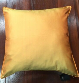 Gold Silk Cushion Cover 16x16