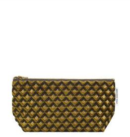 Designer's Guild Portland ochre small washbag