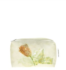 Designer's Guild Spring tulip buttermilk small washbag