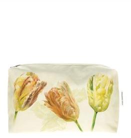 Designer's Guild Spring tulip buttermilk medium washbag