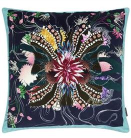Designer's Guild Ocean blooms ruisseau cushion