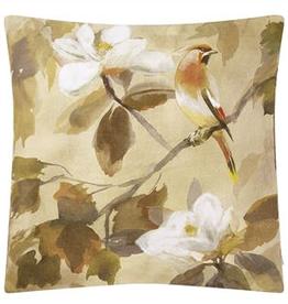 Designer's Guild Maple tree sepia cushion