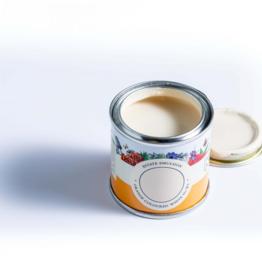 Farrow and Ball 100ml Sample Pot NHM Orange coloured White No.W5
