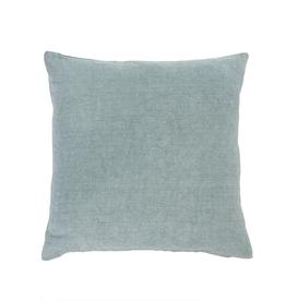 Indaba Nala Linen Pillow, Blue Grey 20 X 20