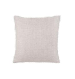 Indaba Skye Linen Pillow, Grey 24 X 24