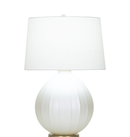 Flow Decor Shelley Table Lamp - Off White Linen Shade