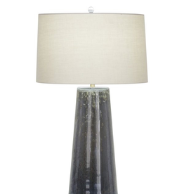 Flow Decor Wyatt Table Lamp - Off White Linen Shade