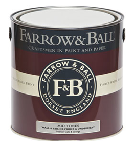 Farrow and Ball Gallon Wall & Ceiling Primer & U/C White & Light Tones