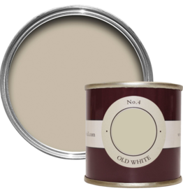 Farrow and Ball 100ml Sample Pot Old White No. 4