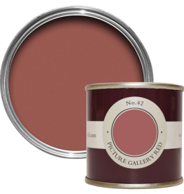 Farrow and Ball 100ml Sample Pot Picture Gallery Red No. 42