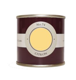 Farrow and Ball 100ml Sample Pot Citron No. 74