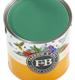 Farrow and Ball US Gallon Modern Emulsion NHM Verdigris Green No.W50