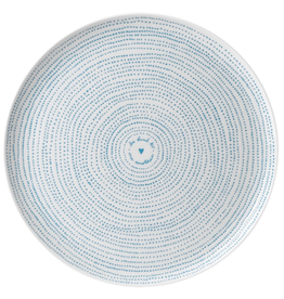 WWRD ED Polar Blue Dots Serving Platter