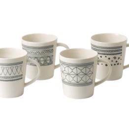 WWRD ED Charcoal Grey Mugs Set of 4