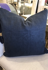 Navy White Duo Cushion