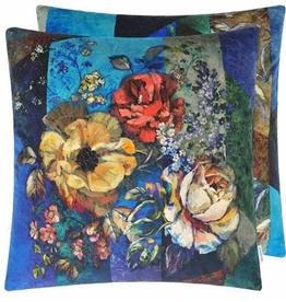 Designer's Guild Designer's Guild Manakari Cobalt Cushion  22 x 22