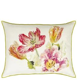 Designer's Guild Designer's Guild Spring Tulip Buttermilk Cushion 20 x 18