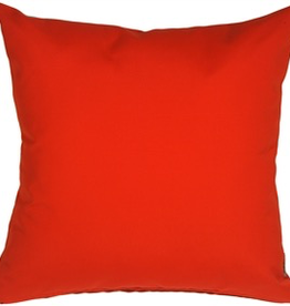 Pillow Decor Logo Red Square Outdoor Pillow <br /> 20 x 20