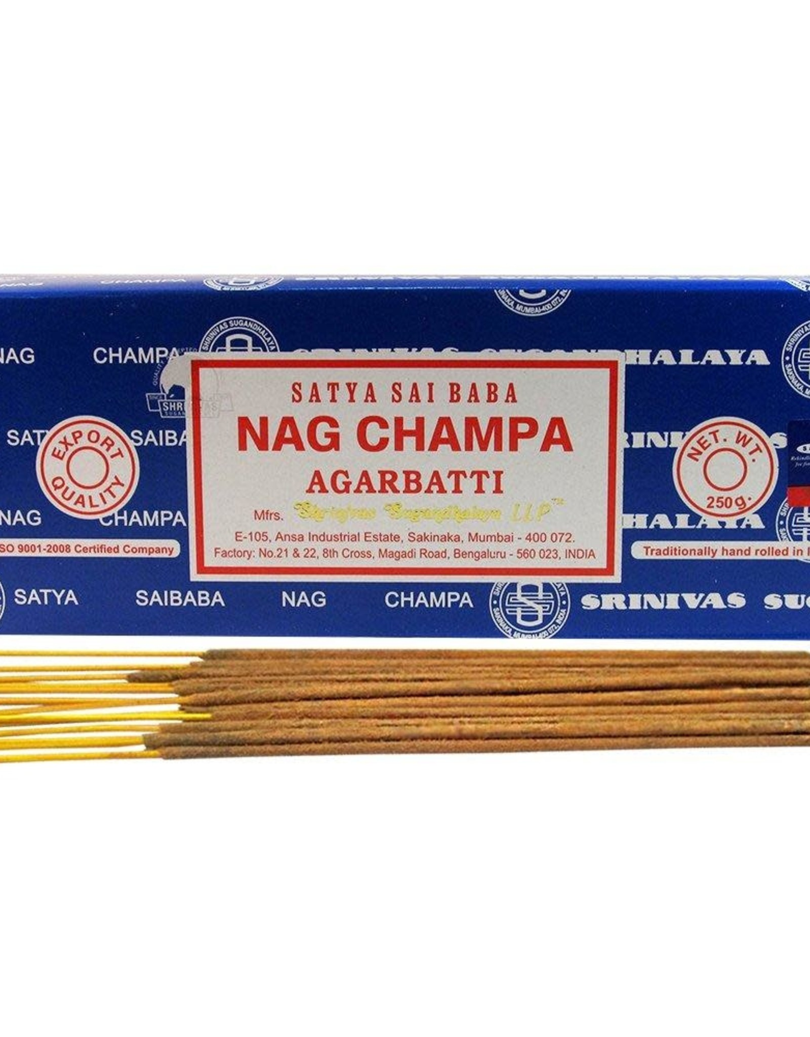 Nag Champa Incense 15gr Box The Painted Parasol Gift Toy